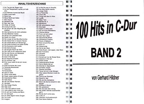 100 éxitos en C-Dur Band 2 – Hermosa Evergreens, Bate, Oldies ...