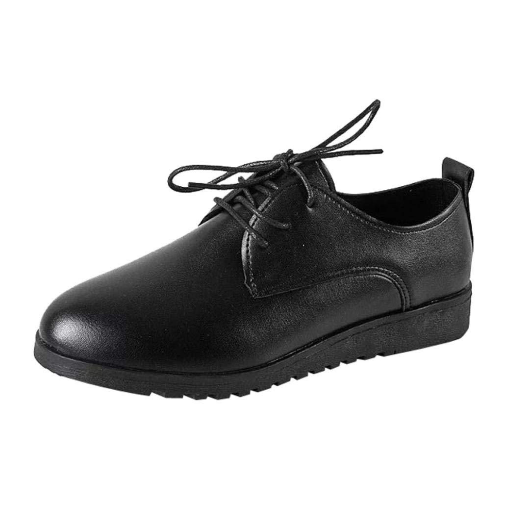 Covermason Zapatos Zapatillas mujer, planos de cuero planos cómodos de las mujeres: Amazon.es: Ropa y accesorios