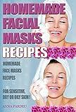 Homemade Facial Masks Recipes: Homemade Face Masks For   Sensitive, Dry or Oily Skin