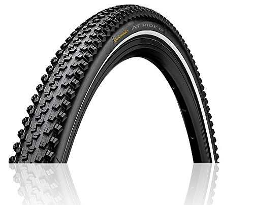 Continental at Ride ETRTO Fold BW Bike Tires, Black, 700X42 (42-622) 0101429