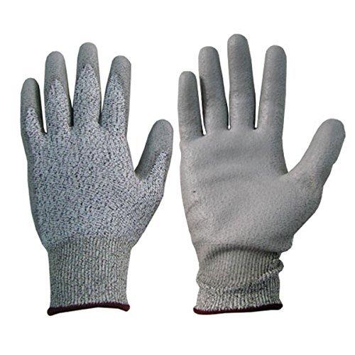 Animal Handling Grooming Gloves with PE Coating HandMax D...