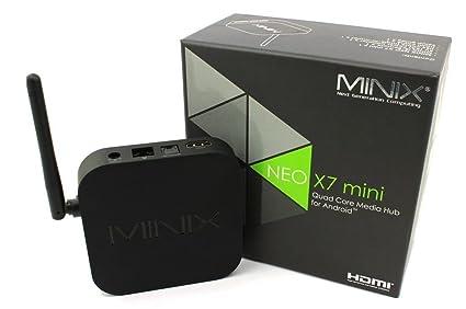 MiniX Neo X7 Mini TV Box Android 4 2 2 OS Quad Core Rockchip
