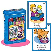 Multiple Meanings Fun Deck Cards - Super Duper Educational Learning Toy for Kids