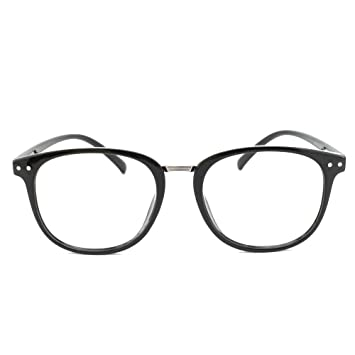 66177f85444 EyeBuyExpress Bifocal Prescription Mens Womens Black Classic Retro Style  Reading Glasses Anti Glare Quality +2.00
