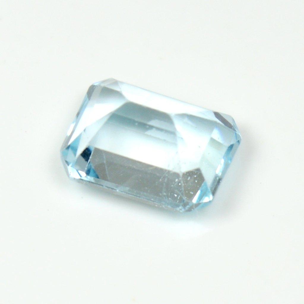 55/carats Topaze bleue Pierre 3/carat Original Naturel carr/é Pierre pr/écieuse de courroie