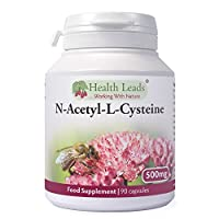 N-Acetyl-L-Cysteine (NAC) 500mg x 90 capsules - Magnesium Stearate Free