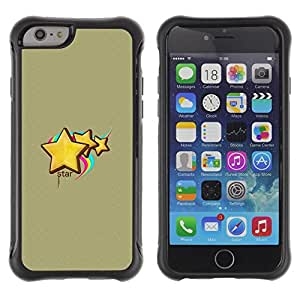 Jordan Colourful Shop@ Cute Star Rugged hybrid Protection Impact Case Cover For iPhone 6 Plus CASE Cover ,iphone 6 5.5 case,iPhone 6 Plus cover ,Cases for iPhone 6 Plus 5.5