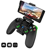 steam box pc - GameSir G3s Wireless Bluetooth Controller Gamepad for Android Smartphone Tablet TV BOX, PC Windows XP/7/8/10, Samsung Gear VR, PS 3