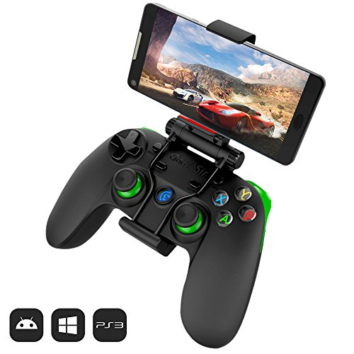 51MKDrwNE7L - GameSir G3s 2.4GHz Wireless Bluetooth Gamepad Controller for Android TV BOX Smartphone Tablet PC (Green)