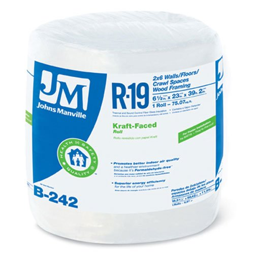 JOHNS MANVILLE INTL 90003720 Series R19 23''x39' Kraft Roll by JOHNS MANVILLE INTL