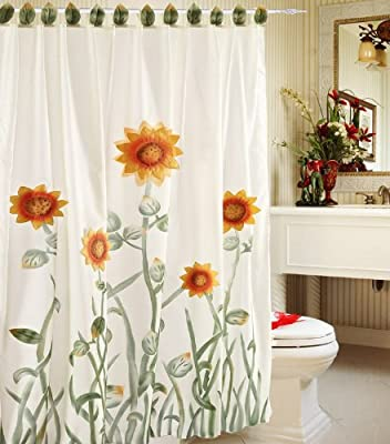 sunflower kitchen curtain China (Mainland) Curtain