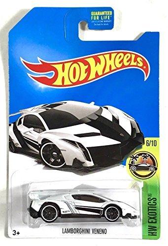 Lamborghini Veneno White (2017 Kroger Exclusive - HW Exotics 6/10) $$ Hard to Find $$