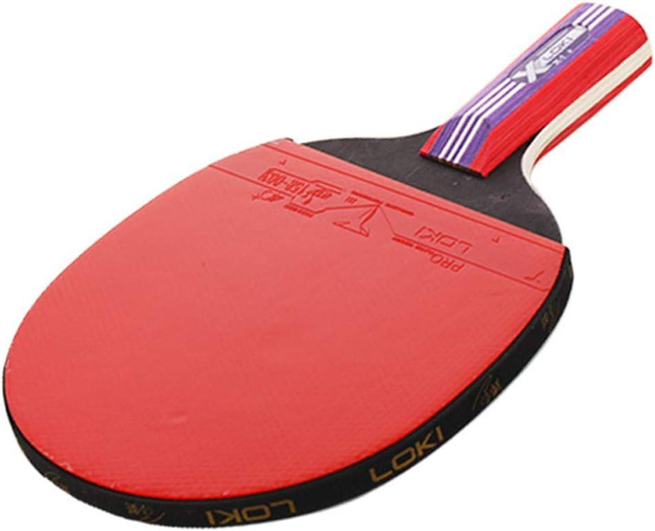 KUANDARPP Ping Pong Raquetas De Table Tenis De Mesa Pala Ping Pong Ideal Tanto para Principiantes como Jugadores Más Avanzados Profesionales Talla única