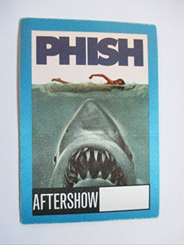 (Phish Jaws The Movie Satin Backstage Pass Shark Eating Swimmer ASO)
