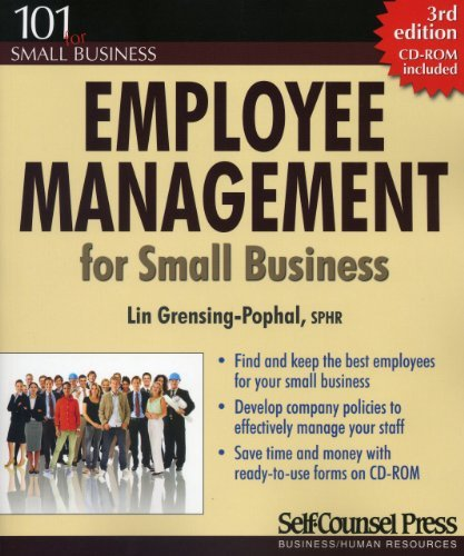 By Lin Grensing-Pophal Employee Management for Small Business: Find and keep the best employees for your small business. (1 (3rd Third Edition) [Paperback] pdf