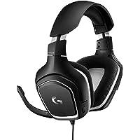 Logitech G332 Special Edition Cuffie Gaming Cablate, Audio Stereo, Driver 50 mm, Jack Audio 3.5 mm, Microfono Flip-to-Mute, Padiglioni Rotanti, PC/Mac/Xbox One/PS4/Nintendo Switch, Nero (Sportmesh)