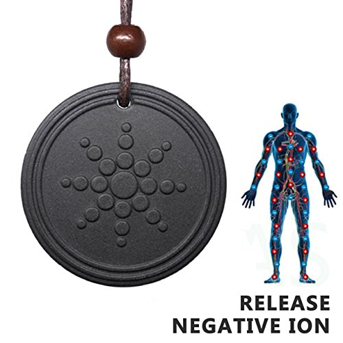 on Shield EMF Neutralizer Negative Ions Energy Pendant Necklace Orgone Pendant ()