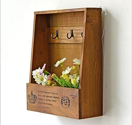 margueras – Armario para llaves – Caja de llaves de pared (madera: Amazon.es: Hogar