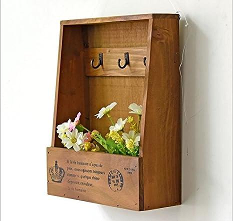 MARGUERAS – Armario para Llaves – Caja de Llaves de Pared (Madera
