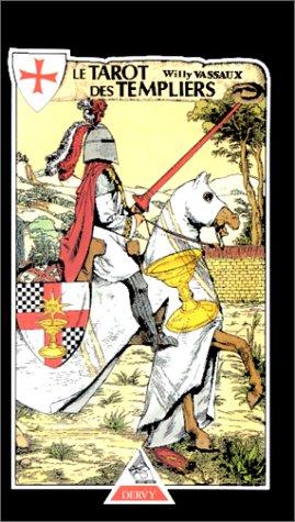 Le Tarot des Templiers : Jeu de cartes Relié – 26 mai 1999 Willy Vassaux Dervy 2850768634 AUK2850768634