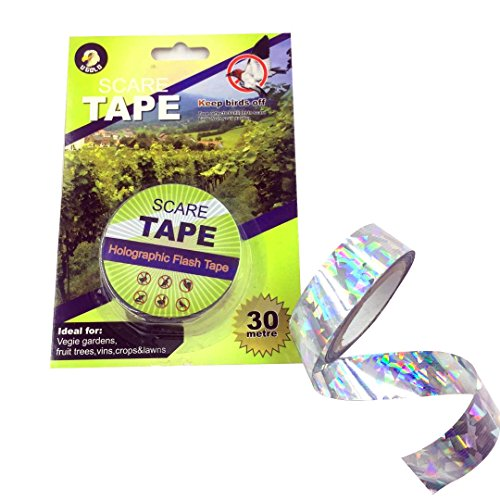 Ugold Bird Repellent Scare Tape Bird Repellent Ribbon - 3/4