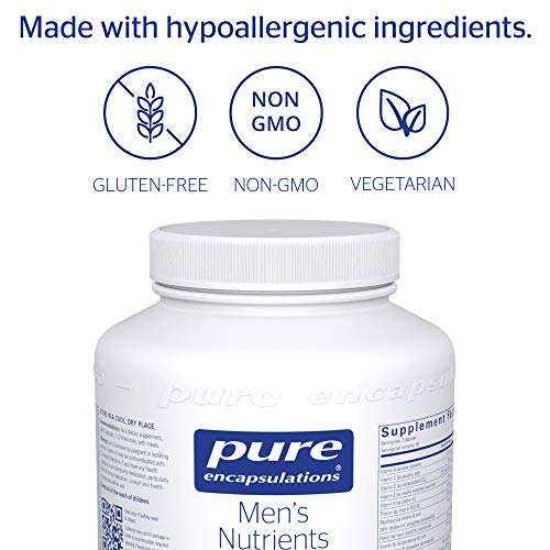 Pure Encapsulations - Men's Nutrients - Hypoallergenic Multivitamin/Mineral Complex for Men Over 40-180 Capsules by Pure Encapsulations (Image #3)