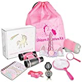 Littolo - Kids Adventure Kit- Unicorn Gifts for Girls- Unicorn Headband, Unicorn Backpack,...