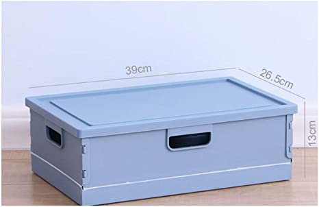 Caja de almacenamiento plegable de plástico Caja de libro Caja del organizador del estudiante Caja de almacenamiento del libro del dormitorio Herramientas grandes del coche, A1: Amazon.es: Bebé
