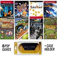 PSP PREMIUM 8 Game Bundle with Free UMD Case Holder - Holiday Special -