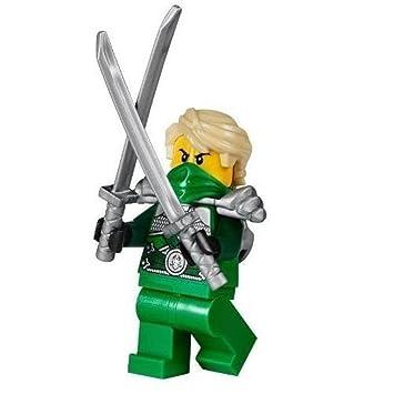 Amazon.com: LEGO® Ninjago Minifigure Lloyd Garmadon Green Silver ...