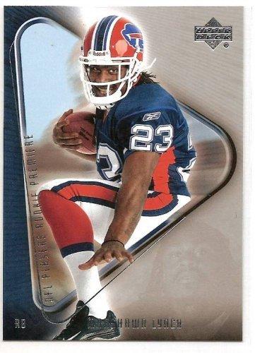 Players Rookie Premiere 18 # Marshawn Lynch (RC) - Buffalo Bills - Football Card (2007 Upper Deck Football Cards)
