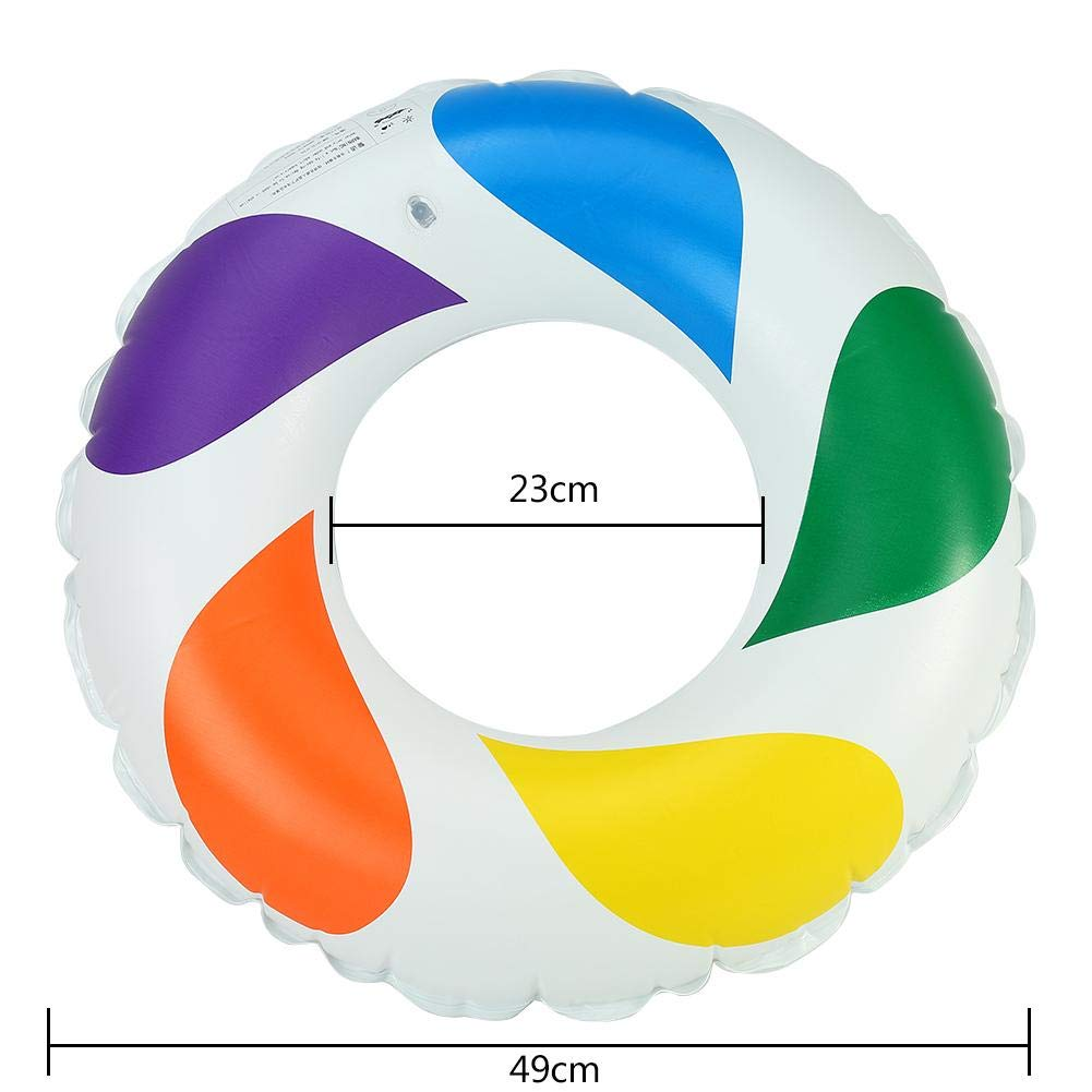 Swimming Life Ring 4 Sizes Swimming Ring Lifeguard Children//Adults Float Safety Preserver Decor Boat Life Ring for Beach Swimming Water Sports
