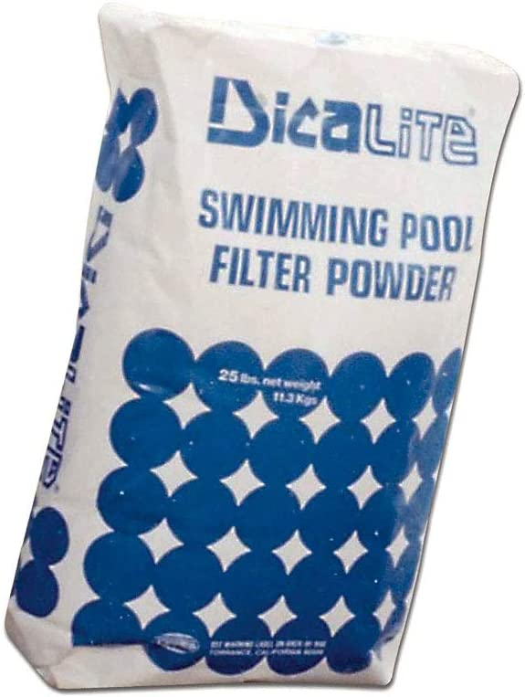 Diatomaceous Earth Pool Filter, 25 lbs