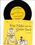 img - for KING MIDAS and the GOLDEN TOUCH, copyright 1973, including 33 1/3 RPM Record in Picture Sleeve book / textbook / text book