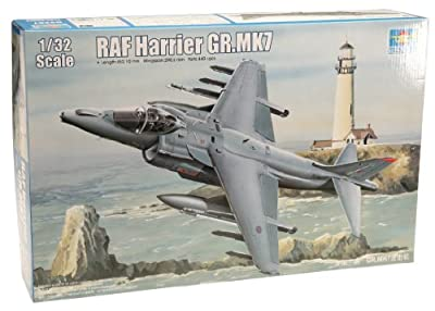 Trumpeter 1/32 RAF Harrier GR Mk 7 Attack Aircraft Model Kit