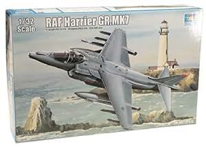 Trumpeter 02287 RAF Harrier GR MK7 - Avin en miniatura (escala 1:32) [importado de Alemania]