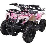 Outdoor Kids Children Sonora 24V Pink Mini Quad ATV Dirt Motor Bike Electric Battery Powered