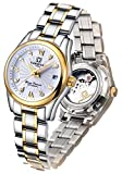 Carlien Women's Diamond Watch Automatic Mechanical Waterproof Ladies Gold Watches