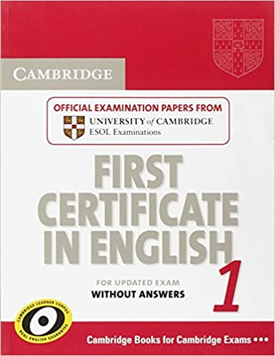 buy cambridge first certificate in english 1 for updated exam ...