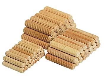 Wolfcraft 2910000 Dowel Pins (Pack of 30) ø 10 mm, length 40 mm Dowelling Kits and Dowels Dowelling Tools Hand Tools Packs of Dowels Woodworking Tools