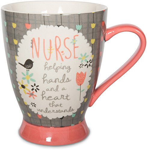 Pavilion Gift Company 74038 Nurse Ceramic Mug, 18 oz, Multicolored -