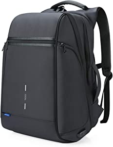 VGOAL Anti Theft Laptop Backpack 17.3 Inch with USB Charging Port and RFID Pocket,Traveling Business Bag Daypack for Men and Women