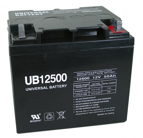12V 50Ah Wheelchair Battery Replaces 44ah Power Patrol SLA1161 (Power Battery Wheelchair)