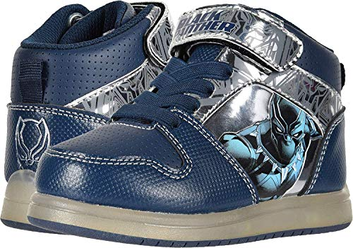 Black Panther Child Light Up Sneakers Size 11 -