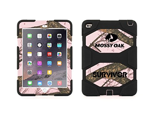 (Griffin, iPad Air 2 Protective Mossy Oak Camo Case with Stand, Breakup/Pink Survivor All-Terrain, [Mossy Oak][Camo and Pink])