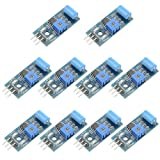 XLX 10PCS Vibration Sensor Module Normally Closed SW-420 Vibration Switch Alarm Sensor Module Highly Sensitive High Efficient for Arduino