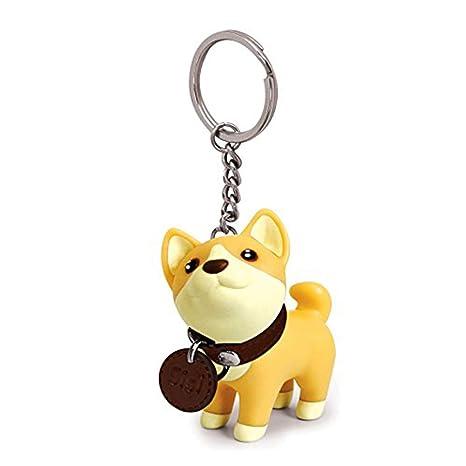 ygmoner Dog Keychains Bag Pendent, 4 Type Choosable (Shiba Inu)