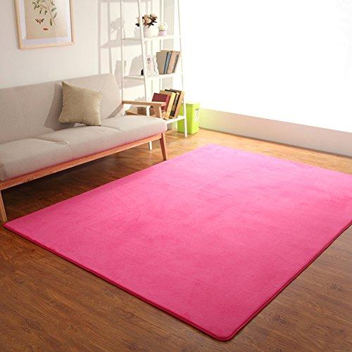 Color Undercoat (Solid Color,Undercoat,Carpet/Living Room,Tea Table,Bedroom,Household Use,Water,Ultra-thin,Floor Mat-B 200x200cm(79x79inch))