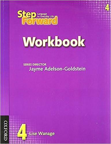 Workbook aa 4th step worksheets : Step Forward 4 Workbook: Lise Wanage, Jayme Adelson-Goldstein ...
