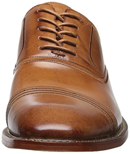 Stacy Adams Mens Bingham Oxford Tan